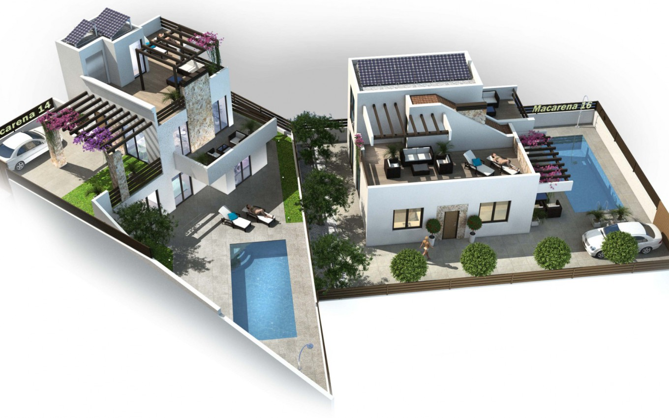 New Build - Villa - Rojales - Ciudad Quesada